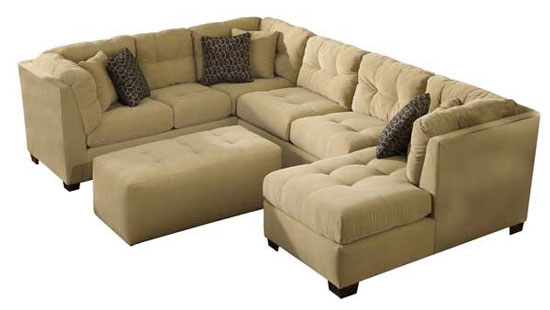 sushi de banana sof com chaise. Black Bedroom Furniture Sets. Home Design Ideas