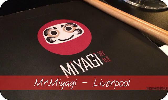 Mr Miyagi Liverpool review