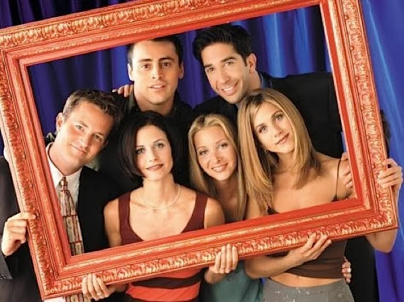 Seriado Friends - sucesso na TV americana e brasileira