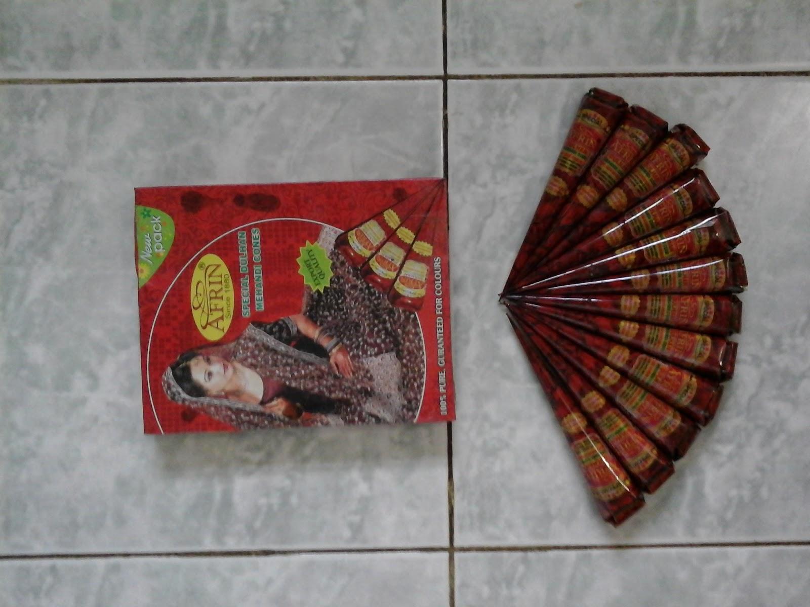 HENNA GOLECHA INDONESIA Oktober 2015