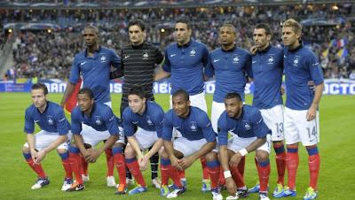 Skuad Tim Perancis Euro 2012