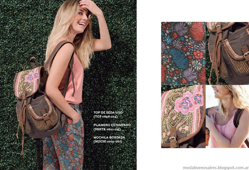 Ver coloección primavera verano 2015 moda ropa de mujer casula urbana.