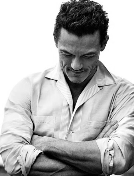 Luke Evans by John Balsom for Man of The World No.4