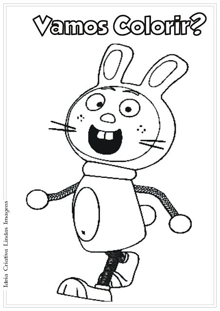 Tickety Toc Hopparoo desenho para colorir