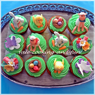 cooking fun by valentina ostern cupcakes mit verstecktes schoko ei. Black Bedroom Furniture Sets. Home Design Ideas