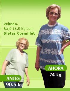 bajar 16 kilos 90 kilos 74 kilos dieta cormillot antes y despues