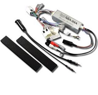 NSA-03A Nissan Adapter Kit w/o BOSE&5.1ch
