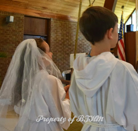 miss grace first communion acolytes