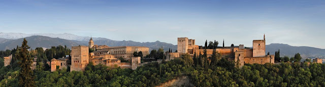 Travel around Spain - Alhambra (Granada)