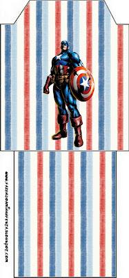 Bolsitas de Té de Capitán América.