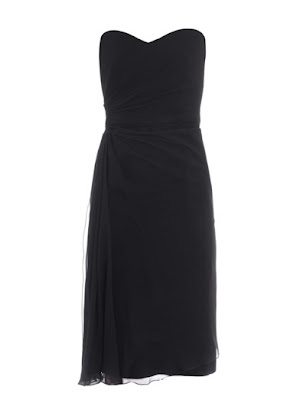 Furetto strapless dress