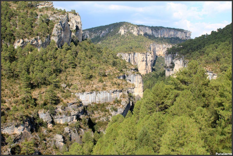 Hoz Del Guadiela (Hoz De Tragavivos). Río Guadiela (Carrascosa De La Sierra y Cañizares)