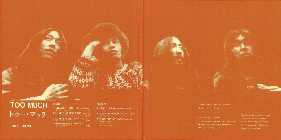 Heavy 70 S Too Much S T 1971