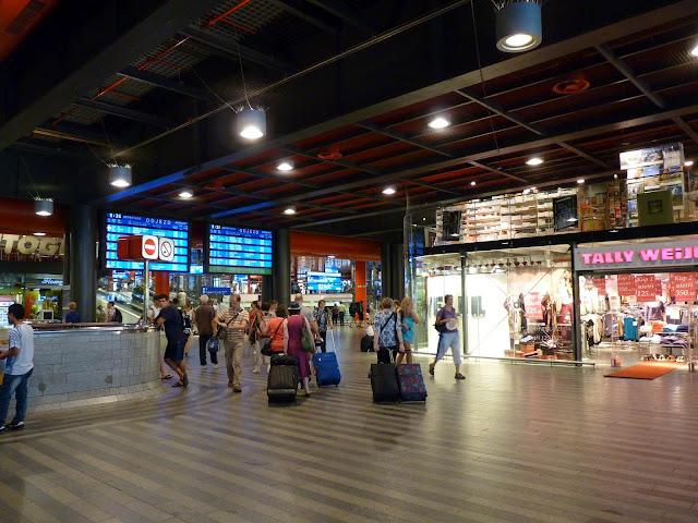 Estación de trenes Praga