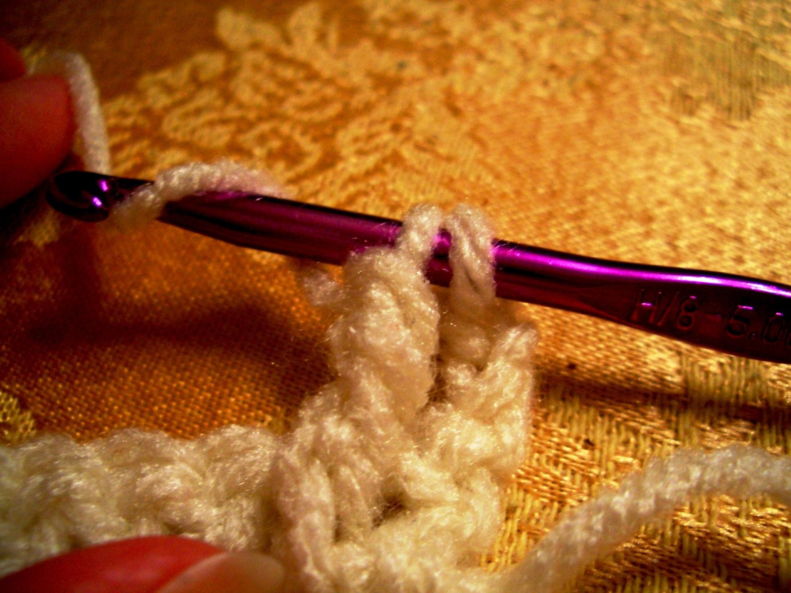 Crochet Fptr : Crochet Parfait: FPTR--Front Post Triple or Treble Crochet