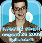 Gilad Shalit on Twitter
