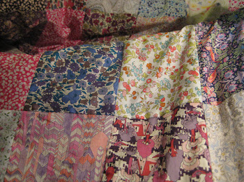 Liberty Patchwork Quilt