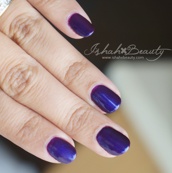 purple wet n wild nail polish