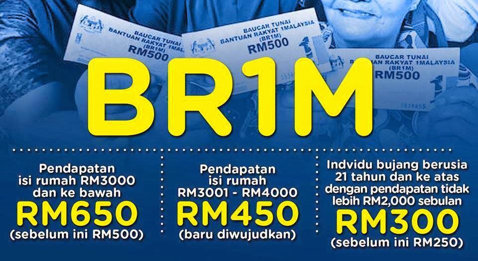 wendy pua malaysia chinese lifestyle blogger bantuan rakyatbantuan rakyat 1malaysia (br1m) 3 0 is out