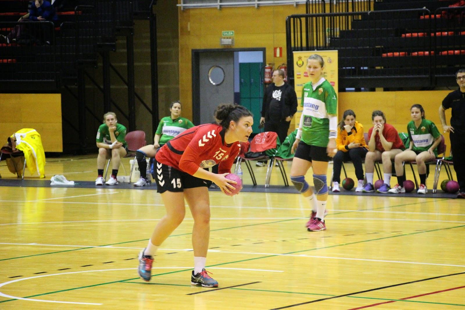 Balonmano femenino. Zuazo vs Elche
