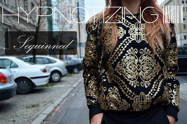 sequinned sweatshirt bloggers
