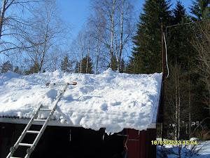 Lumenluonti katoilta kolallanne 50€ / alkava tunti