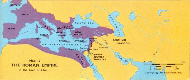 Roman empire in nt times