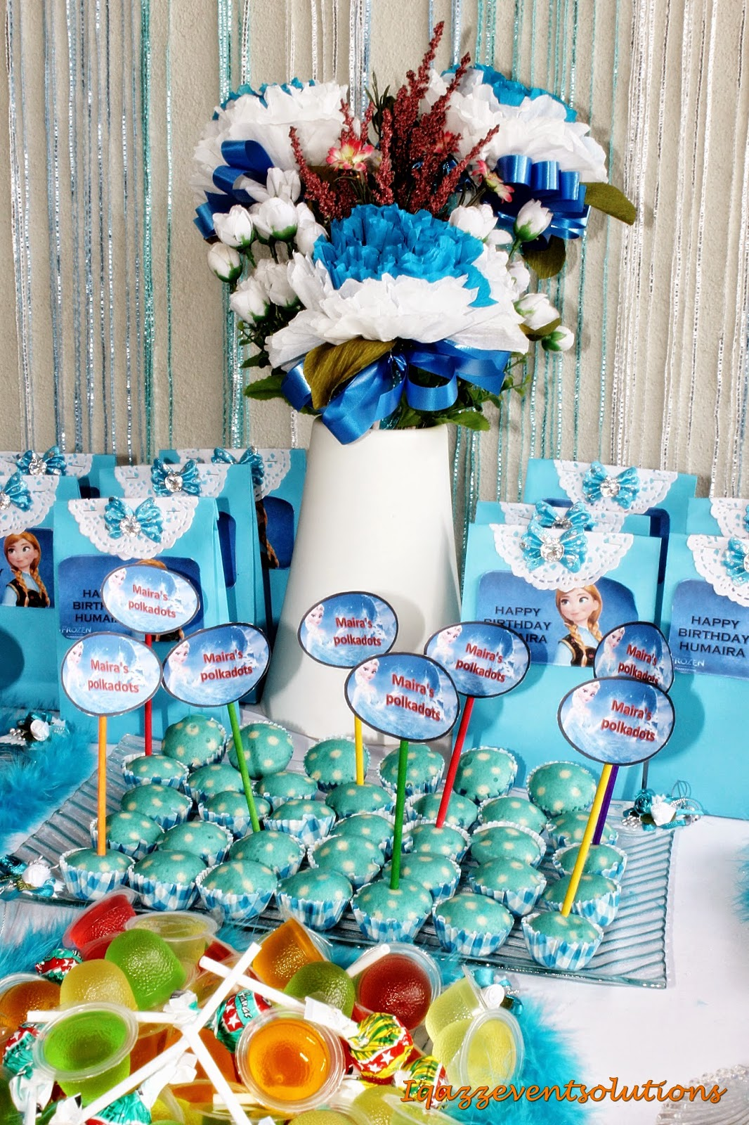 Iqazz Event Solutions Candy Buffet Birthday Frozen Mairas