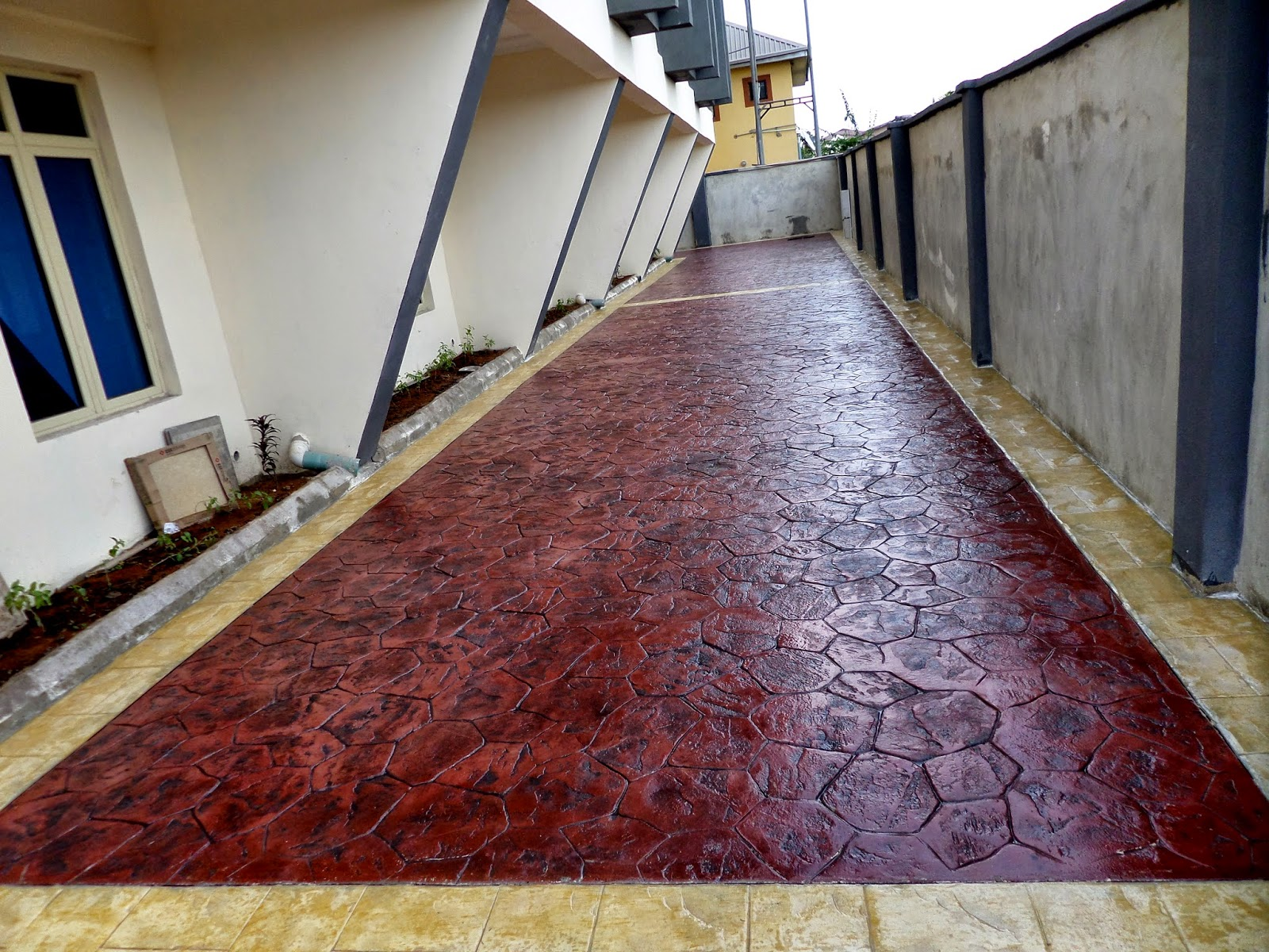 Lets shade nigeria give us a call today to see how we can change your home church environment or business with our beautiful durable cost effective decorative concrete dailygadgetfo Gallery