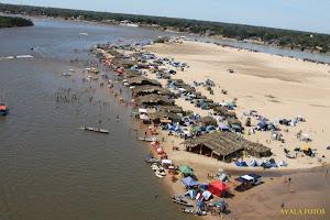 Acampamentos no Rio Araguaia