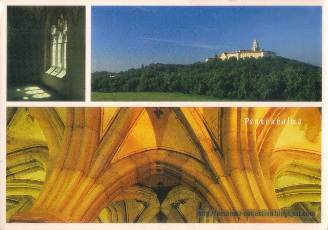 Postcard | Hungary | Pannonhalma Archabbey