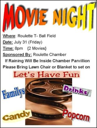 7-31 Movie Night, Roulette