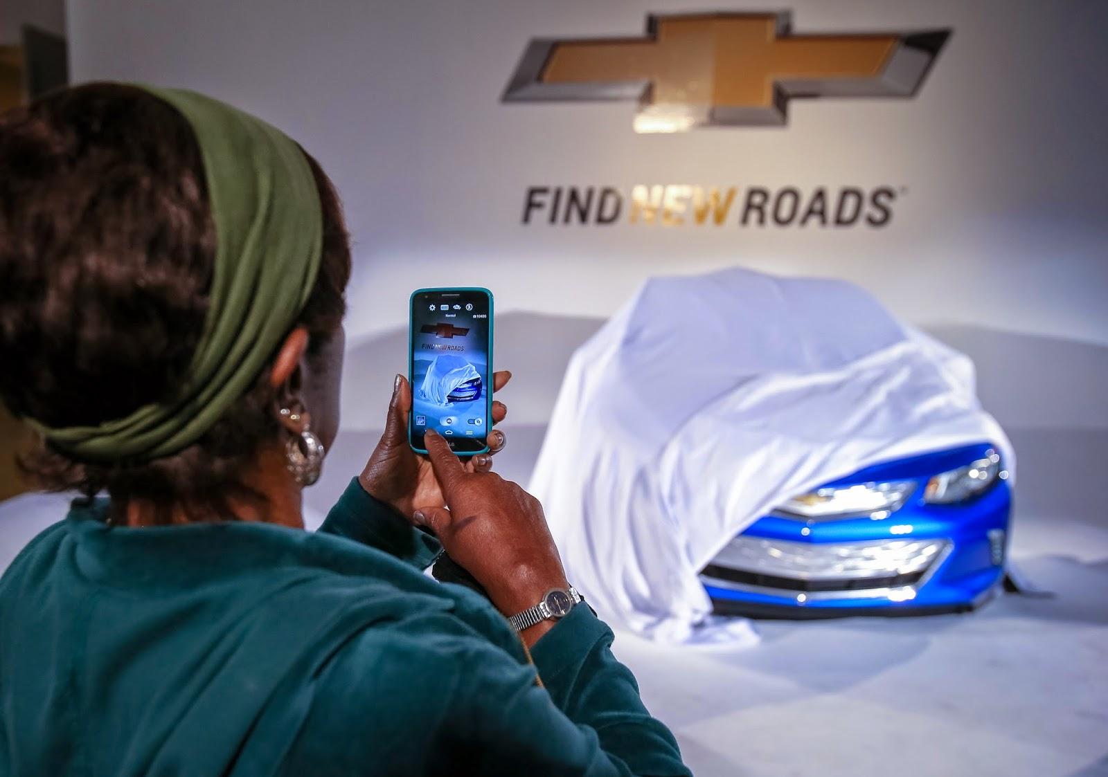 2016 Chevrolet Volt Elle Montre Un Bout De Sa Partie