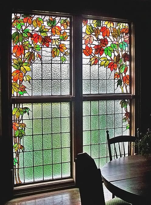 Витраж на окнах своими руками фото 17