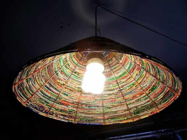 The Art Of Up-Cycling: Diy Lamp Shades - Made From Junk