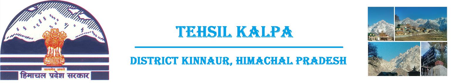 Tehsil Kalpa, Kinnaur