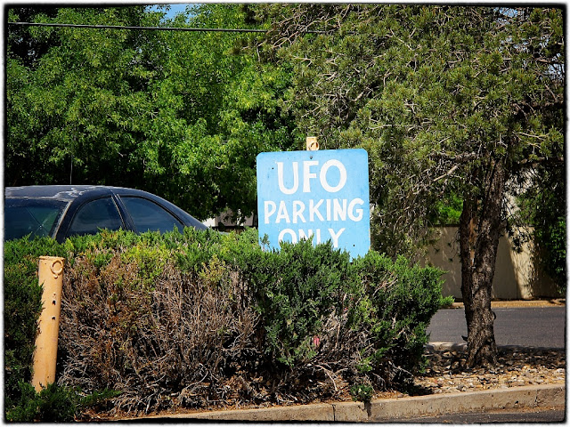 UFO parking, Roswell, USA
