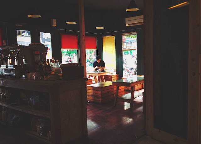 Interior of Lagani Coffee Yogyakarta