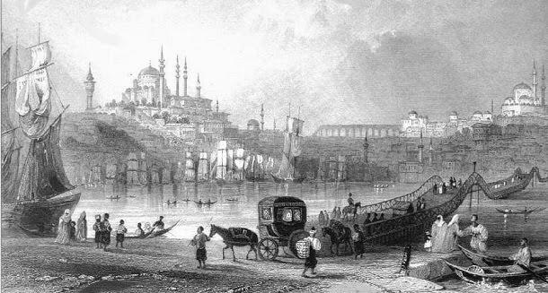 istanbul gravürü