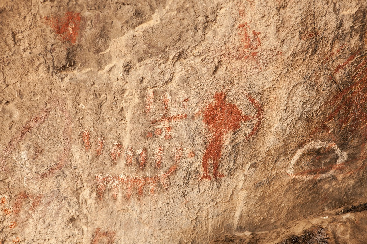 Indian Head Canyon Prehistoric Art