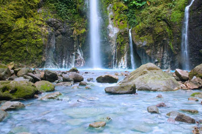 Air Terjun dan Telaga Dwi Warna Sibolangit