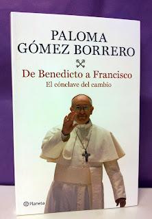 Portada del libro De Benedicto a Francisco