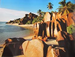 Seychelles Granite Rocks