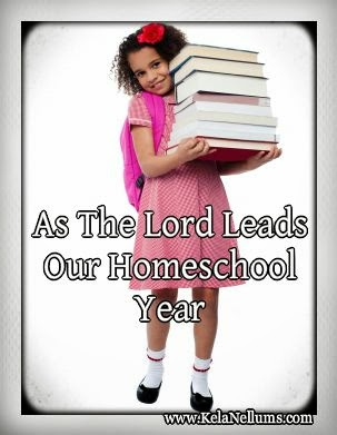 As God Leads Our Homeschool Year