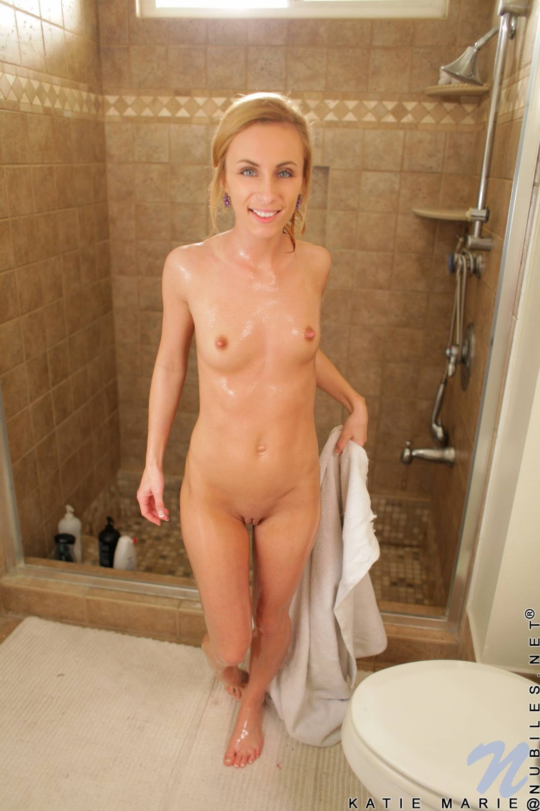 www.CelebTiger.com+Katie+Marie+In+Red+Dress+Shows+Her+Wet+Perky+Nipples+ 031VDM227 Katie Marie Wet And Horny In Her Red Bath Robe HQ Nude Photo Gallery