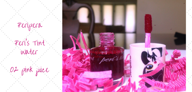 Peripera Peri's Tint Water 02 Pink Juice 페라페라 페리스틴트 워터 2 핑크 쥬스 Review