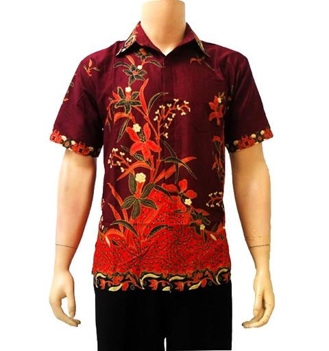 Model Kemeja Batik Model Baju Kemeja Batik Pria