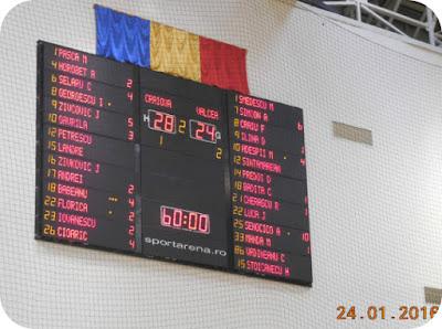 Craiova 28 - Valcea 24