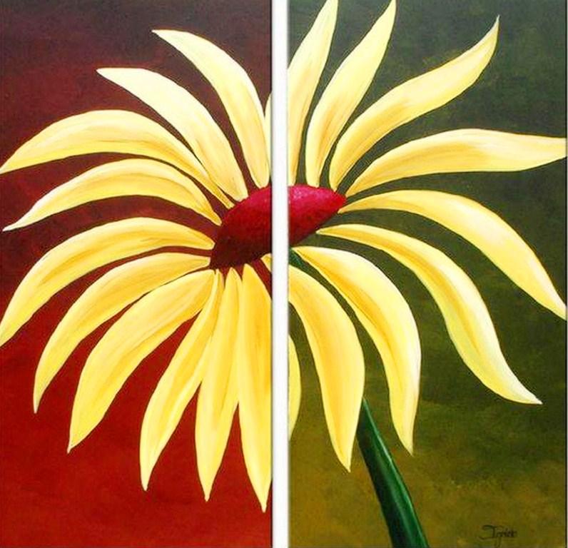 Pintura moderna y fotograf a art stica cuadros d pticos pintura - Como pintar cuadros faciles ...