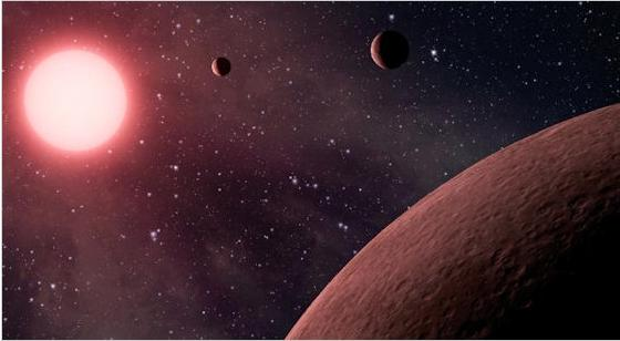 Three Alien Planets Discovered Life